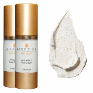 LA BODIES 24K Gold Face Cream Antioxidant