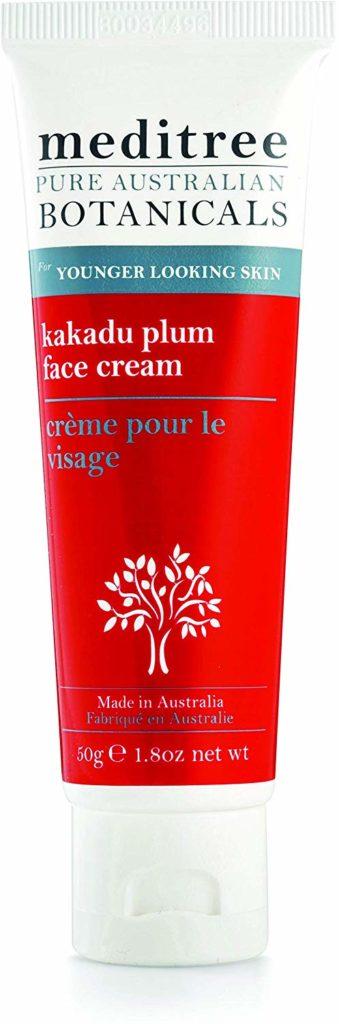 NaturesPlus Meditree Pure Australian Botanicals Kakadu Plum Face Cream - 1.8 oz - Nourishing Moisturizer with Antioxidants for Younger Looking Skin - Promotes Collagen - Vitamin C Rich - Vegan
