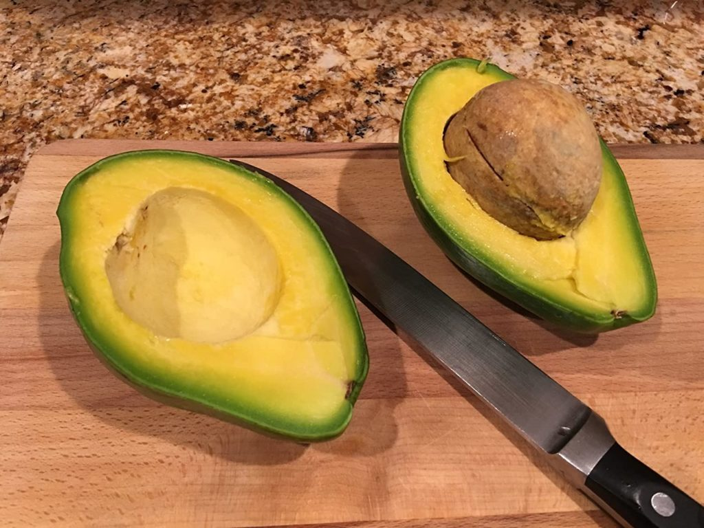 Florida Avocado HOw to Cut an Avocado
