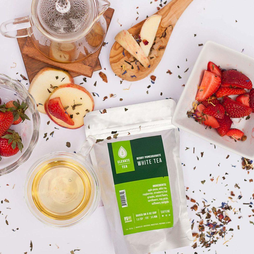 Elevate Tea BERRY POMEGRANATE WHITE TEA 2