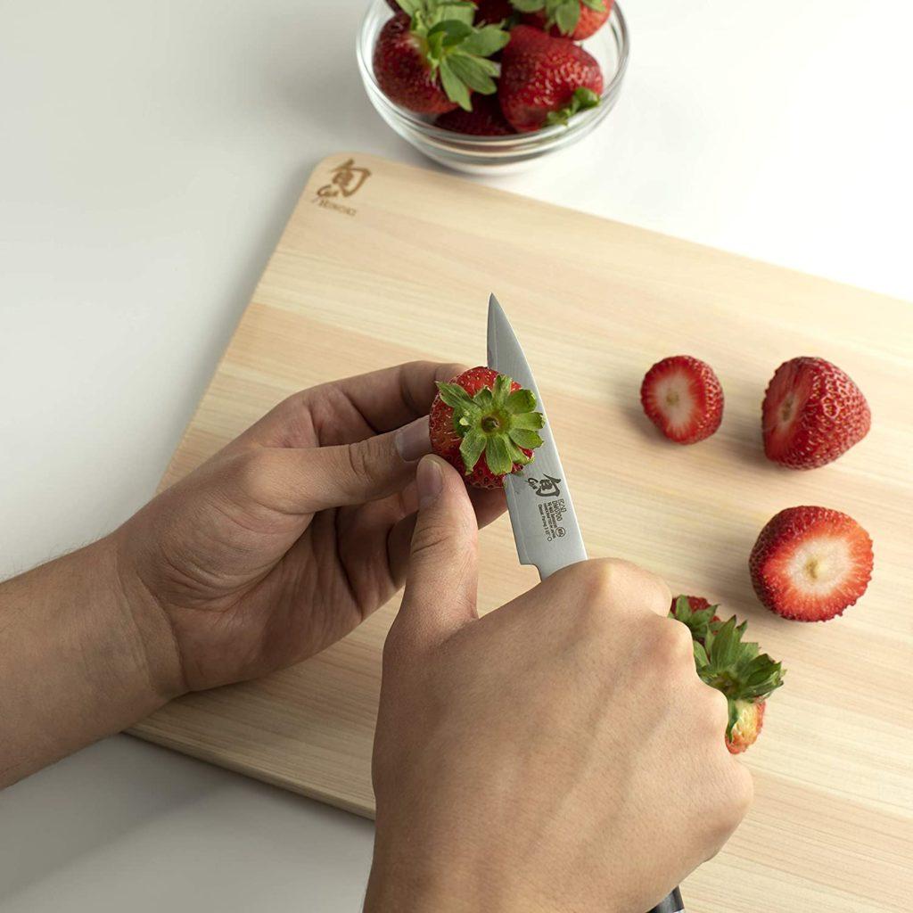 Shun Classic Paring Knife Fruit Knife Strawberries