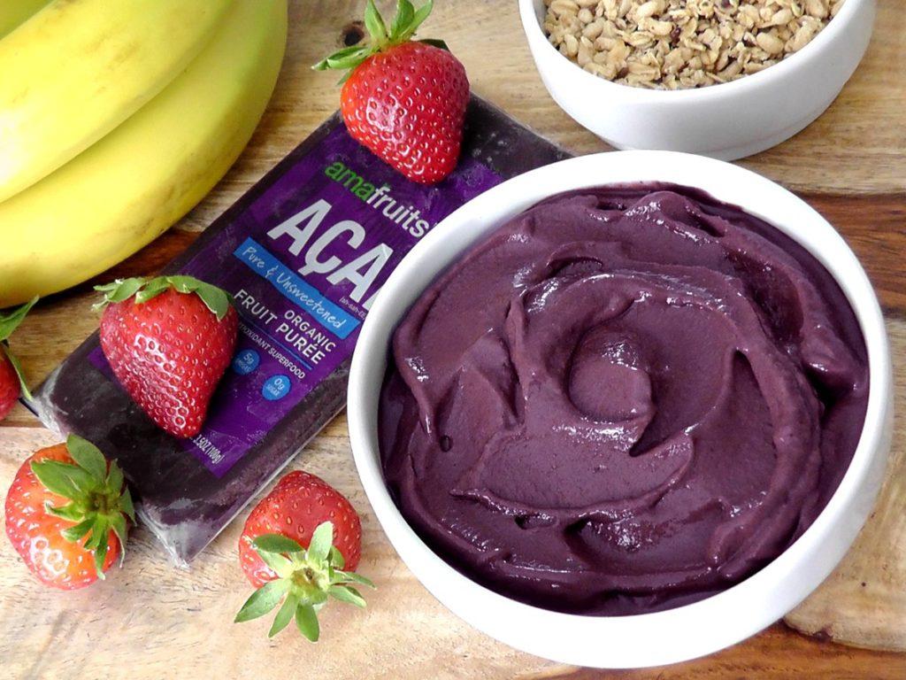 Amafruits Acai Berry Frozen Puree Pure 3