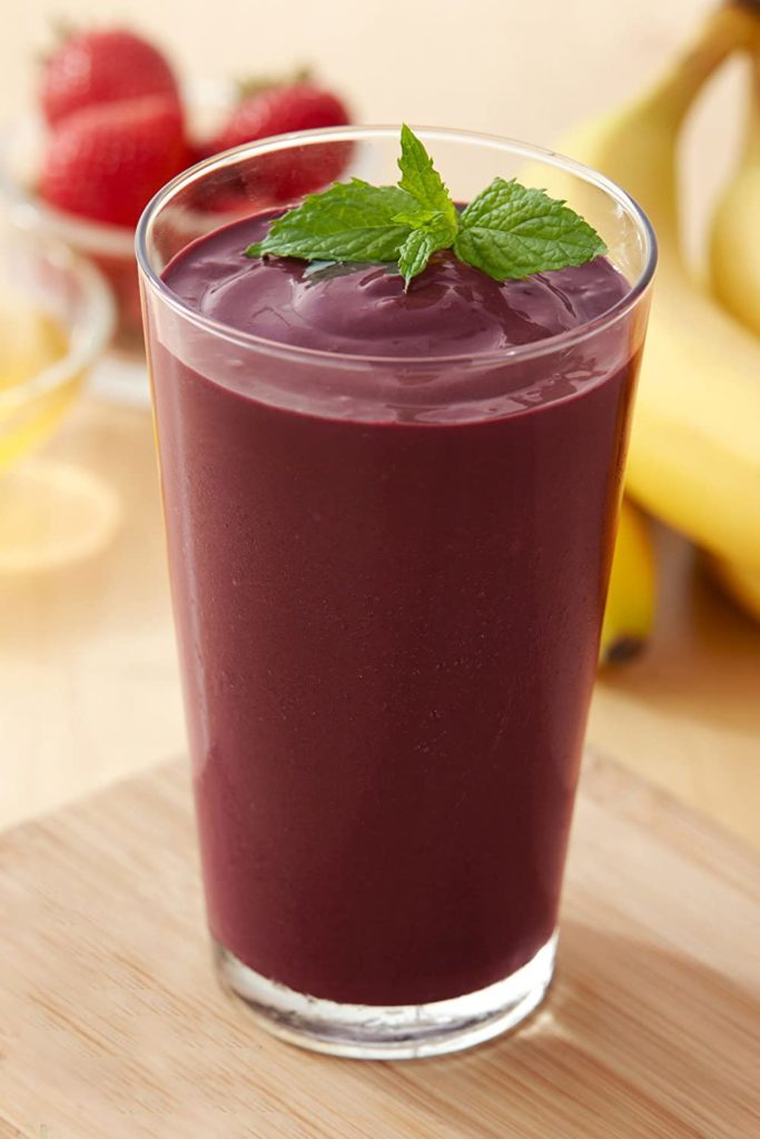 Amafruits Acai Berry Frozen Puree Pure and Unsweetened / USDA Organic / Non-GMO Certified / Antioxidant Rich Superfruit