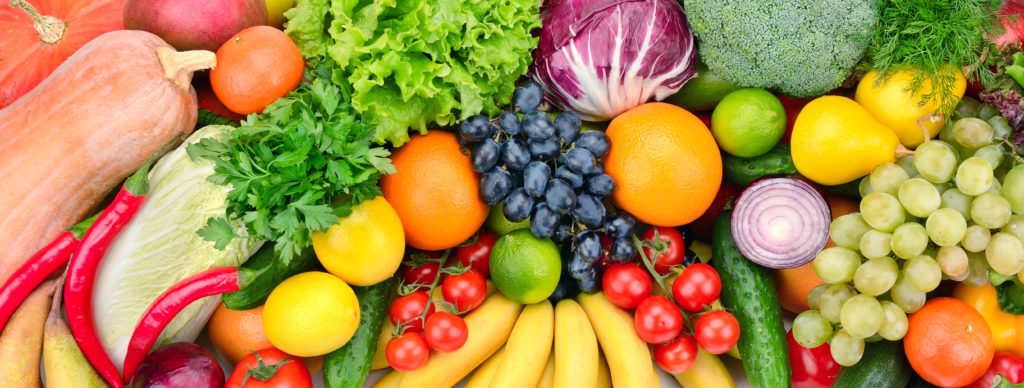 Fruits and vegetables that need to be stored