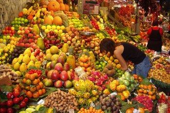 Fruit in a Barcelona Market
