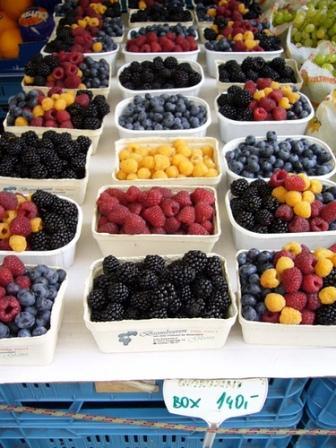 Berries in Prague
